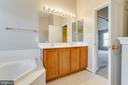 Owner's Bath - 2702 MYRTLEWOOD DR, DUMFRIES