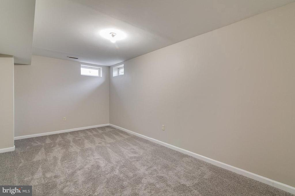 Basement Den, Theater Room, or Exercise Room - 2702 MYRTLEWOOD DR, DUMFRIES