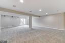 Basement Rec Room to Walkout - 2702 MYRTLEWOOD DR, DUMFRIES