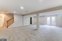Basement Rec Room - 2702 MYRTLEWOOD DR, DUMFRIES
