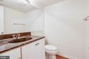 Half bath on main level - 11222 GOLDFLOWER CT, FAIRFAX STATION