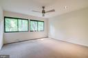 Master bedroom suite w/ entry & sleeping quarters - 11222 GOLDFLOWER CT, FAIRFAX STATION