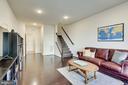 Engineered hardwood floors on 3 levels - 24556 ROSEBAY TER, ALDIE
