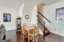 9' ceilings throughout home - 24556 ROSEBAY TER, ALDIE