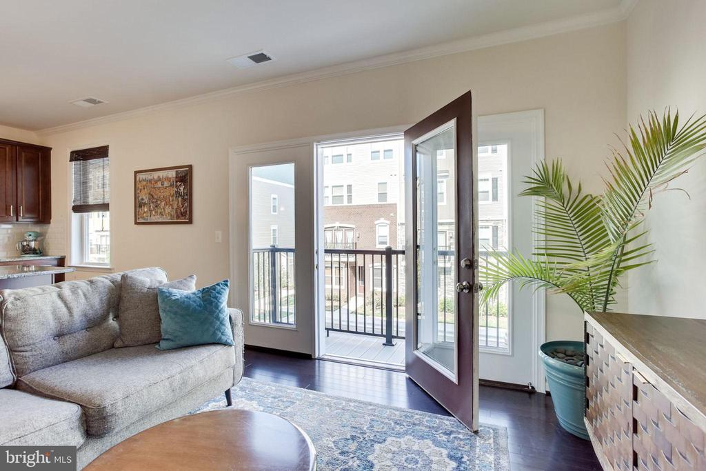 Access out to balcony - 24556 ROSEBAY TER, ALDIE