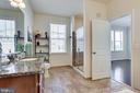 Tile floors and granite counters - 24556 ROSEBAY TER, ALDIE