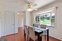 Large eat in kitchen - 4003 MIDDLETON DR, MONROVIA
