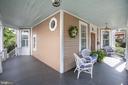 Wrap around front porch - 504 LEWIS ST, FREDERICKSBURG