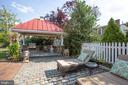 Outdoor Grilling area w/grill and pizza oven - 504 LEWIS ST, FREDERICKSBURG