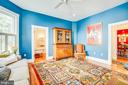 Main level bedroom or Study - 504 LEWIS ST, FREDERICKSBURG