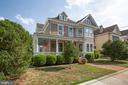 House sits back nicely on the lot! - 504 LEWIS ST, FREDERICKSBURG