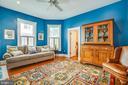 Main level bedroom & Full bath - 504 LEWIS ST, FREDERICKSBURG