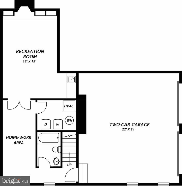 Lower Level - 1904 BELLE HAVEN RD, ALEXANDRIA