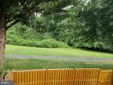 Back yard view - 2775 KNOLLSIDE LN, VIENNA