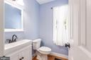 Updated powder room - 5219 CALVERT CT, FREDERICKSBURG