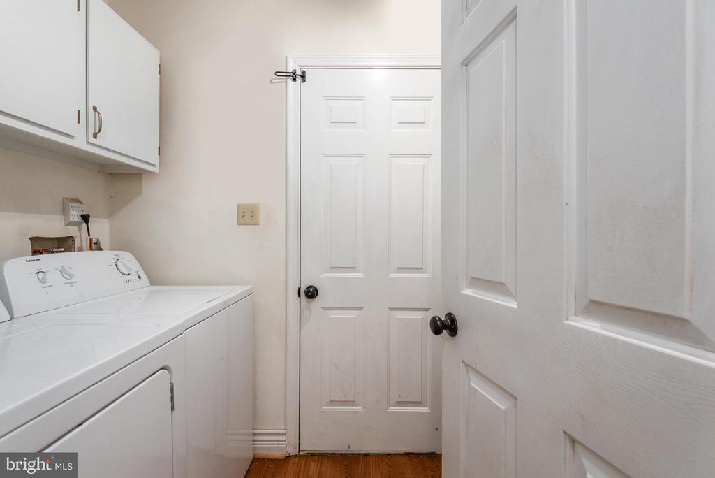 Laundry /mudroom on first floor - 5219 CALVERT CT, FREDERICKSBURG