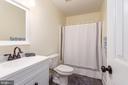 Newly renovated shared bath - 5219 CALVERT CT, FREDERICKSBURG