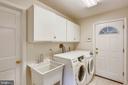 Main level laundry/ mud room - 7404 BRADLEY BLVD, BETHESDA