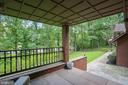 View from the front porch - 7404 BRADLEY BLVD, BETHESDA
