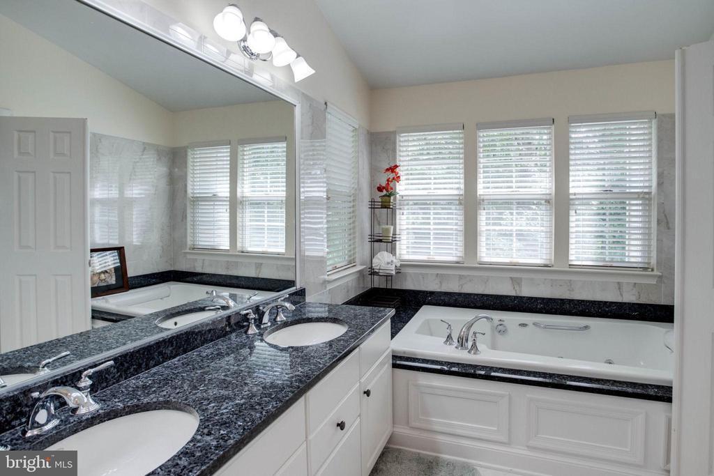 MBA Whirlpool Jacuzzi/double vanity granite top - 4026 ROSEMEADE DR, FAIRFAX