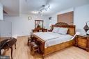 LL rec roomw/laminated wood floor/w Fire Place - 4026 ROSEMEADE DR, FAIRFAX