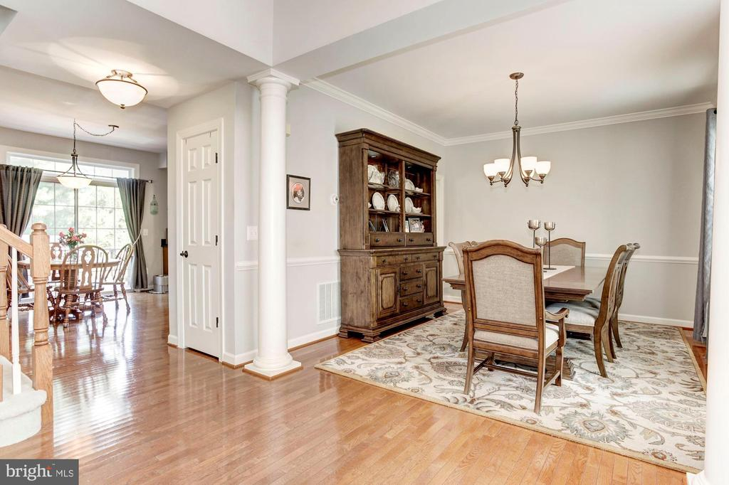 Dining Room - Hardwood Floors - 42956 OHARA CT, ASHBURN
