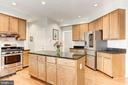 Kitchen - LOADS of counter top space for meal prep - 42956 OHARA CT, ASHBURN