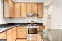 Kitchen features stainless steel appliances! - 42956 OHARA CT, ASHBURN