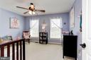 Bedroom #3 - Ceiling fan & overhead lighting - 42956 OHARA CT, ASHBURN