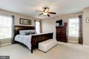 Master Bedroom - Very large, very spacious! - 42956 OHARA CT, ASHBURN
