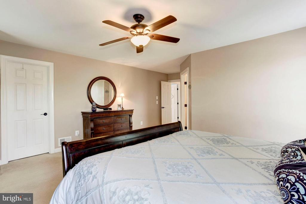 Master Bedroom - Ceiling fan & overhead lighting - 42956 OHARA CT, ASHBURN