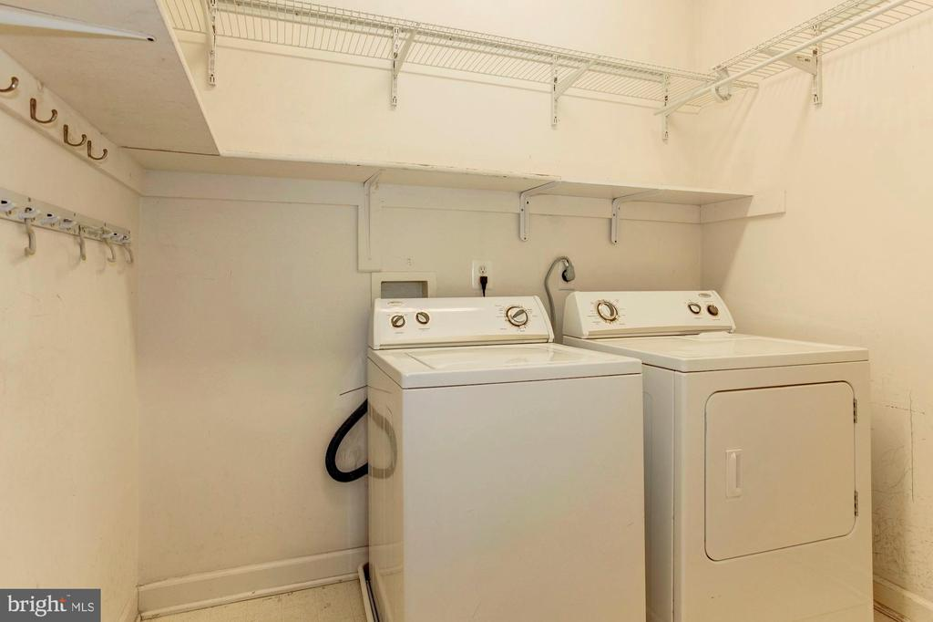 Laundry Room with additional storage space - 42956 OHARA CT, ASHBURN