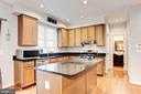 Kitchen - Hardwood floors - 42956 OHARA CT, ASHBURN