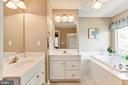 Master Bathroom - Dual sinks & vanities! - 42956 OHARA CT, ASHBURN