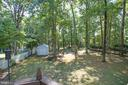 View from deck - 1037 HARBOUR DR, STAFFORD