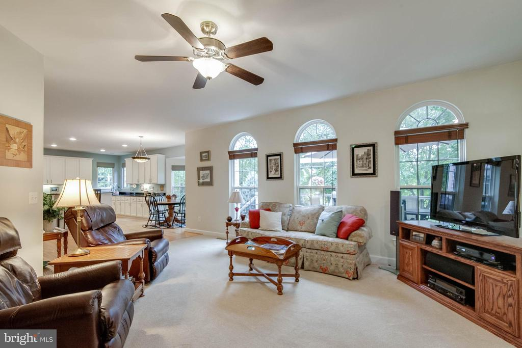 Family room - 43096 BINKLEY CIR, LEESBURG