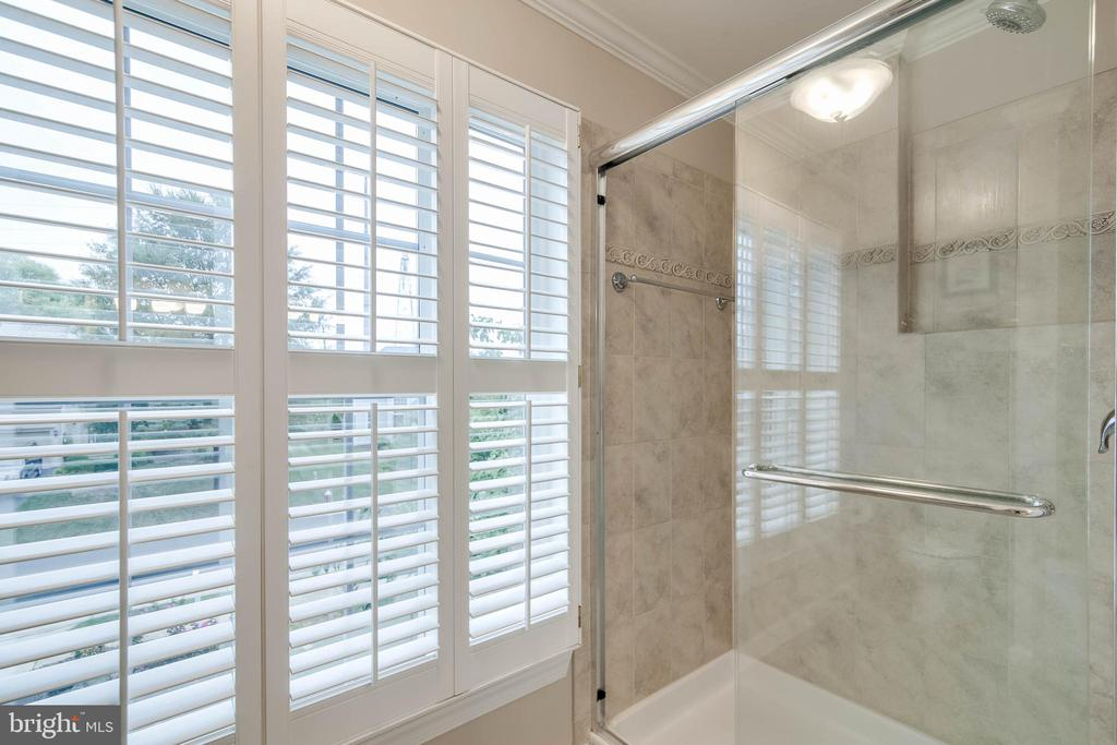 Master shower - 43096 BINKLEY CIR, LEESBURG