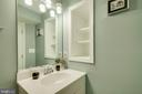 Basement full bath - 43096 BINKLEY CIR, LEESBURG