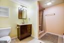 New finished bath in basement - 11911 KINGSWOOD BLVD, FREDERICKSBURG