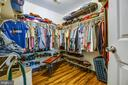 Walk-in closet - 11911 KINGSWOOD BLVD, FREDERICKSBURG