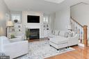 Features: Custom Built In Cabinetry + Gas FP - 23008 WHITE IBIS DR, BRAMBLETON