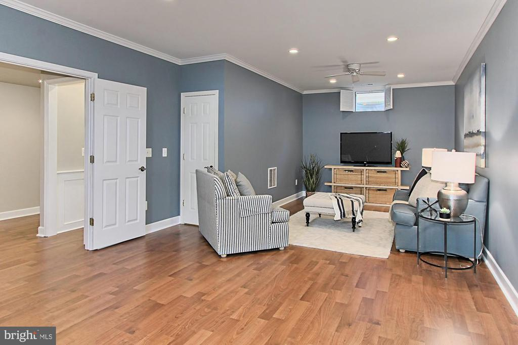 Lower Lvl Features: 9' Ceilings, Recessed Lighting - 23008 WHITE IBIS DR, BRAMBLETON