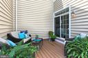 Super Private  and Low Maintenance Deck - 23008 WHITE IBIS DR, BRAMBLETON
