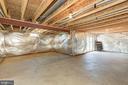Unfinished lower level with full walk out - 24177 STATESBORO PL, ASHBURN