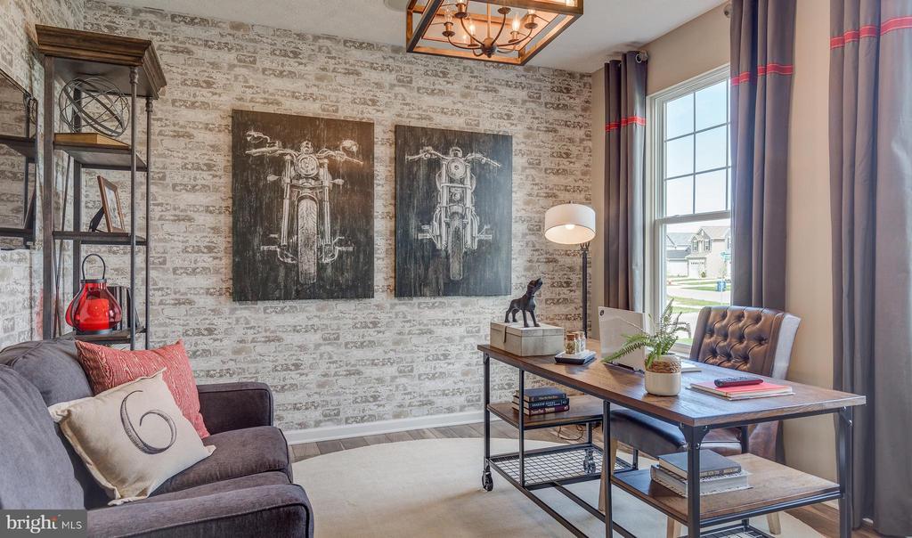 SAMPLE PHOTO - Living Room/Home Office - 113 ARBORETUM, FREDERICKSBURG