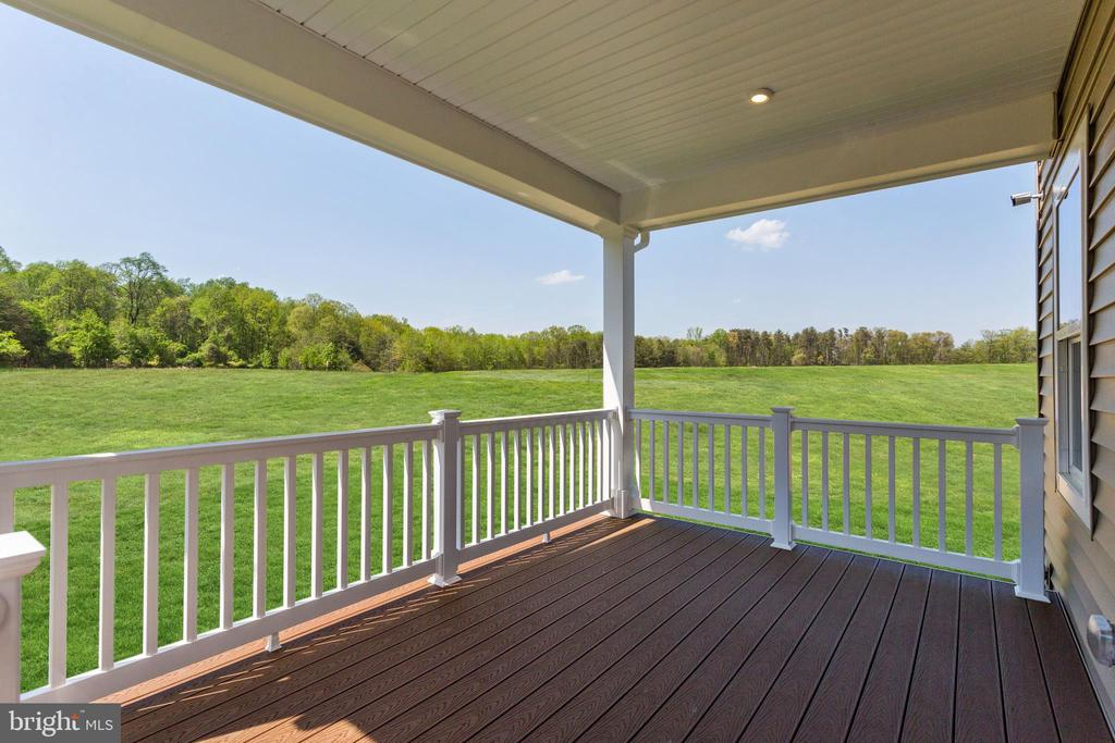 beautiful covered porch - 5323 STRIPED MAPLE ST, FREDERICK