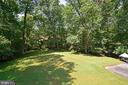 Parklike Setting view of trees and private - 1700 BESLEY RD, VIENNA