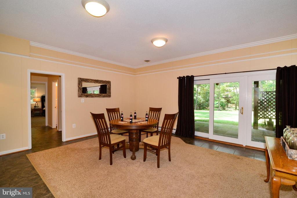 Lower level w/ ample space - 1700 BESLEY RD, VIENNA