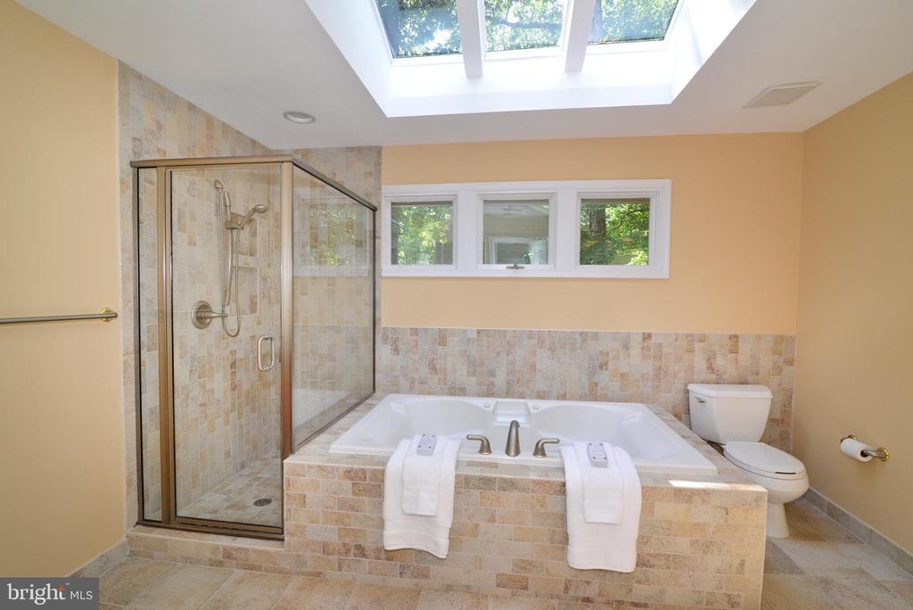 Spa Like Master Bathroom - 1700 BESLEY RD, VIENNA