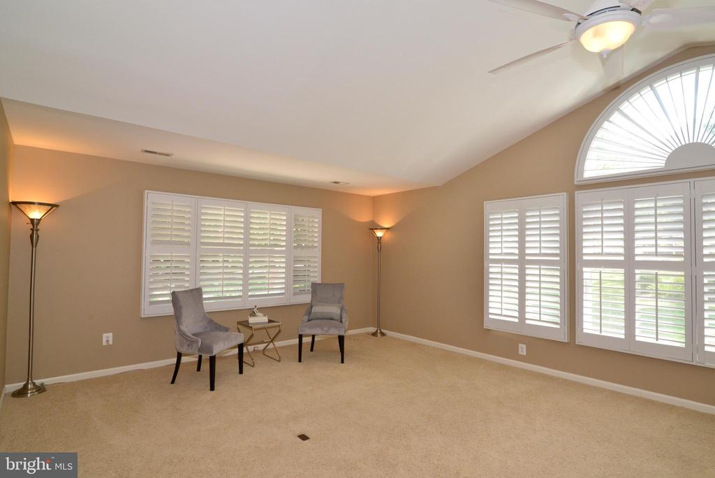 Master bedroom is very spacious and private - 1700 BESLEY RD, VIENNA
